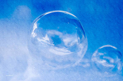 Crystal Wightman Rights Managed Images - A Cold Winter Bubble Royalty-Free Image by Crystal Wightman