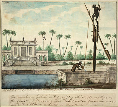 1787 Photograph - A Colonial Garden by British Library