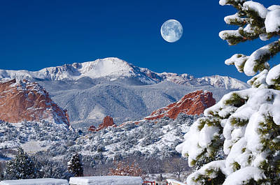 Photograph - A Colorado Christmas by John Hoffman