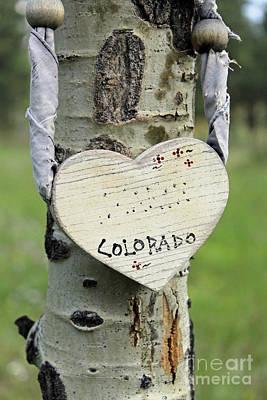 A Colorado Heart Original by Steven Parker