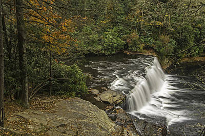 Photograph - A Colorful Autumn Hooker Falls In The Land Of Waterfalls by Willie Harper