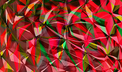 Photograph - Colorful Shapes Blend by Kellice Swaggerty