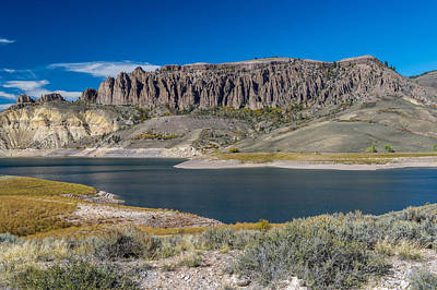 Photograph - A Colorful Colorado Lake by Willie Harper