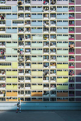 Colorful Houses Wall Art - Photograph - A Colorful Dream by Kevin Jiang