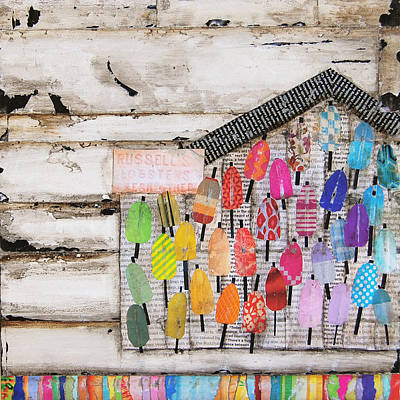 Coastal Maine Mixed Media - A Colorful Existence by Danny Phillips