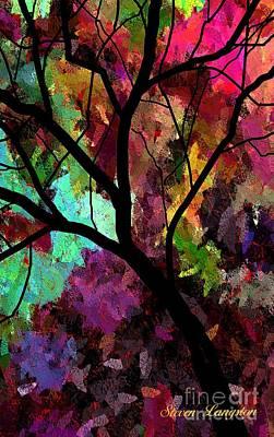 A Colorful Life Art Print