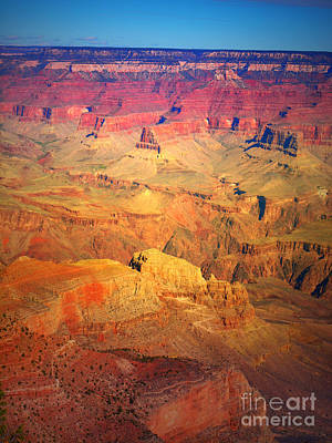 Photograph - A Coloured Canyon by Tara Turner