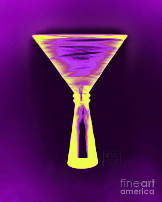 Photograph - A Complementary Martini by Barbara Rush