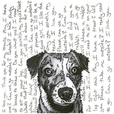 A Conversation With A Jack Russell Terrier Original