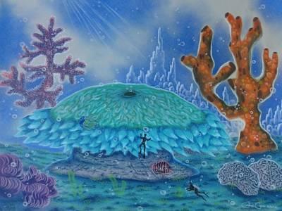 A Coral Kingdom Art Print