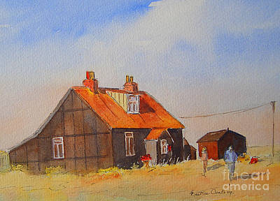 Painting - A Corner Of Dungeness by Beatrice Cloake