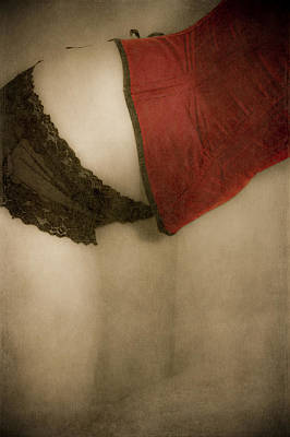 Vintage Erotica Photograph - A Corset Story #02 by Loriental Photography