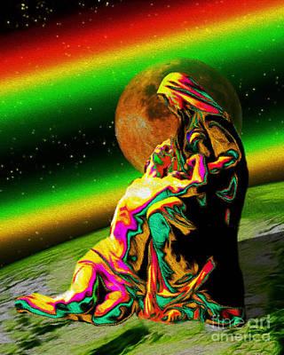 A Cosmic Sacrifice Print by Tarik Eltawil