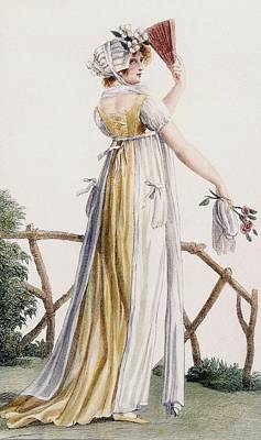 A Country Style Ladies Dress Art Print