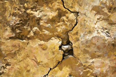 Photograph - A Crack In The Wall II by David Letts