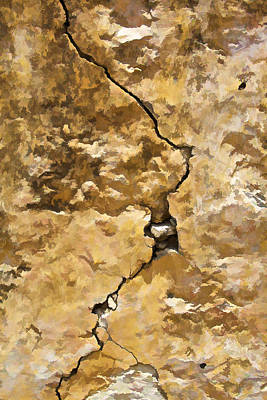 Photograph - A Crack In The Wall IIi by David Letts