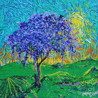 Painting - A Crown Of Purple by Stefan Duncan