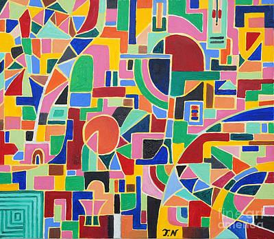 Taikan Painting - A Csino In Las Vegas By Taikan Nishimoto by Taikan Nishimoto