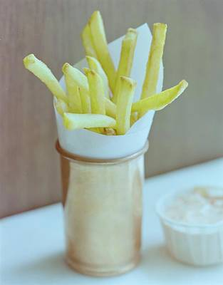 Photograph - A Cup Of Fries by Romulo Yanes