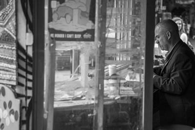 Photograph - A Cup Of Joe In Toronto  by John McGraw