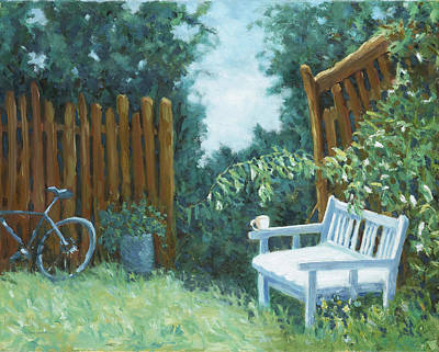 Painting - A Cuppa At Paradise Produce Farms by Dena Cornett