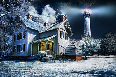 Photograph - A Currituck Christmas by Mary Almond