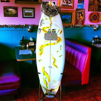 Photograph - A Custom #handshaped 5'2 #forsale And by Paul Carter