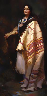Dakota Painting - A Dakota by Mountain Dreams