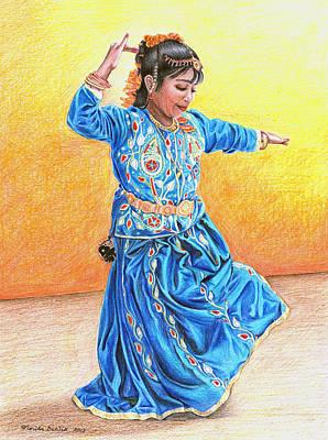 A Dancer Art Print by Noriko DeWitt