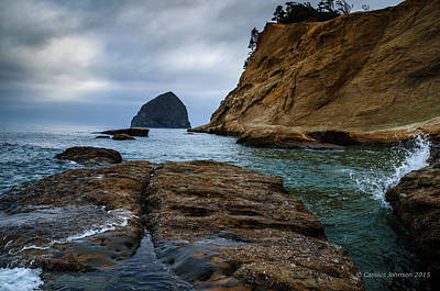 Photograph - A Day At Cape Kiwanda by Cassius Johnson