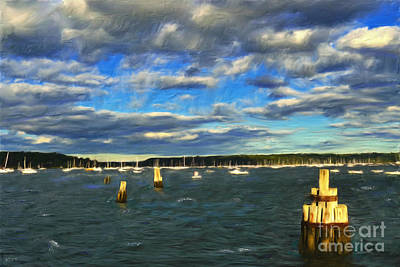 Photograph - A Day At Oyster Bay by Jeff Breiman