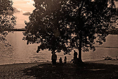 Photograph - A Day At The Lake by George Taylor