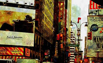 Painting - A Day In New York by Florian Rodarte