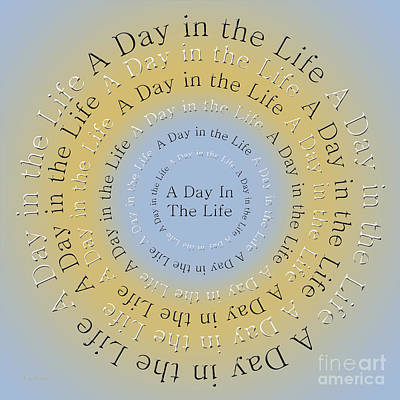 Digital Art - A Day In The Life 3 by Andee Design