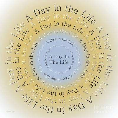 Digital Art - A Day In The Life 4 by Andee Design