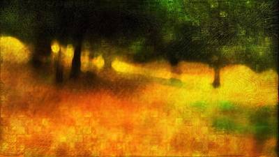 Meditative Digital Art - A Day Out Of Time by Suzy Norris