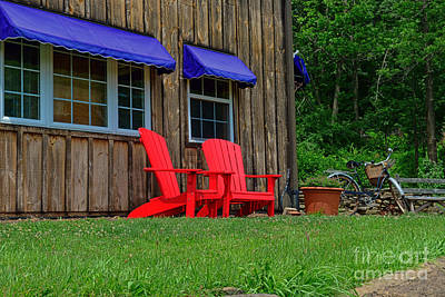 Reclining Chairs Photograph - A Day To Relax by Paul Ward