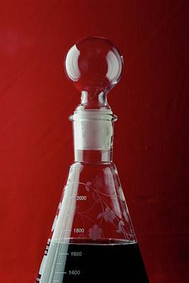 Tableware Photograph - A Decanter by Romulo Yanes