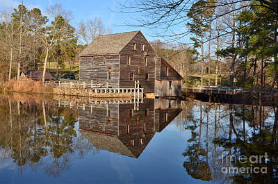 Photograph - A December Reflection by Bob Sample