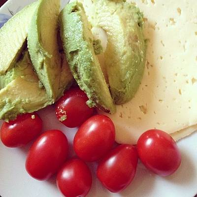 Food And Beverage Photograph - A Delicious Lunch! #avocado #tomato by Melissa Wyatt