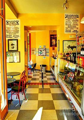 Photograph - A Delightful Deli by Mel Steinhauer