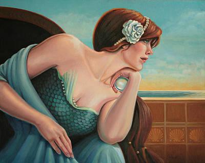 A Different Dream Art Print by Susan Helen Strok