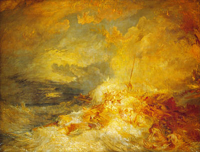 Celestial Painting - A Disaster At Sea by Celestial Images