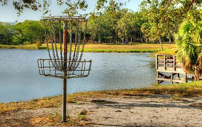 Bogie Digital Art - A Disc Golfer's View by Mark Kelly