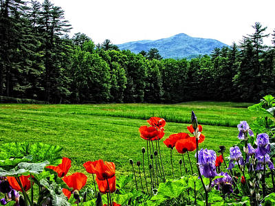 Photograph - A Distant Mount Ascutney by Mike Martin