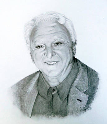 Drawing - A Distinguished Gentleman by Lori Ippolito