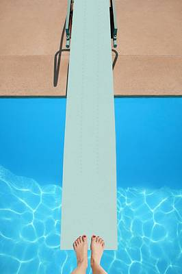 A Diving Board Art Print by Don Hammond