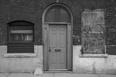 Photograph - A Door And Two Windows by John McGraw