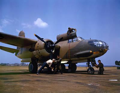 Glove Photograph - A Douglas A-20c-bo Havoc 1942 by Celestial Images