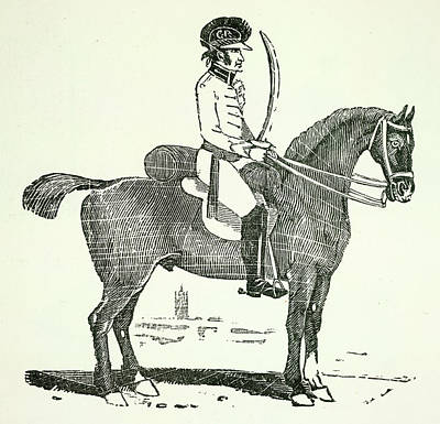 A Dragoon Art Print by British Library